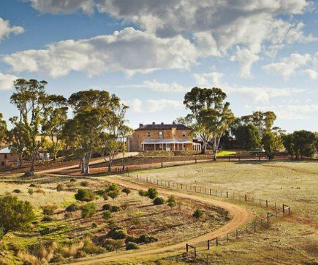 Kingsford Homestead in South Australia, the real life set of Drover's Run.