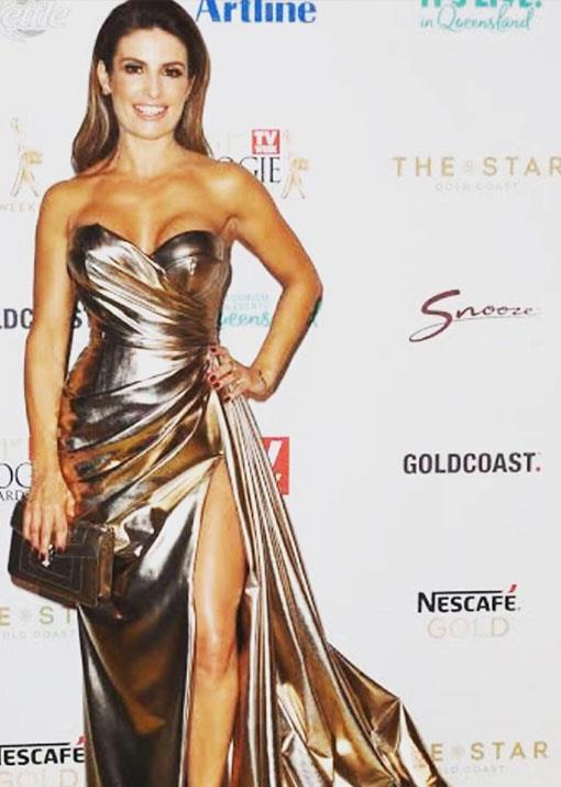 Golden girl! This has to be our favourite look of Ada's from over the years.