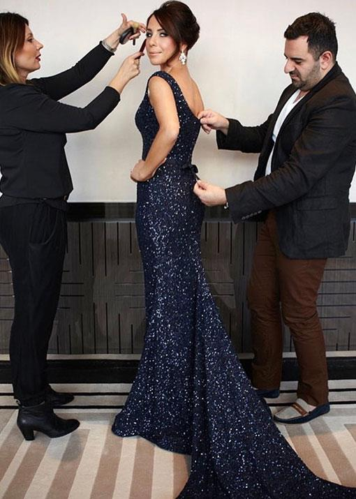 """A huge round of applause for the photographer who actually managed to stop me talking during #finalchecks for this #logies2012 snap. Loved my team @lillym_makeupartist and @steven_khalil #stilldo #throwback #logies #herestonextyear,"" radio presenter and [five-time Logie award-winner Kate Ritchie](https://www.nowtolove.com.au/celebrity/celeb-news/kate-ritchie-logies-64331