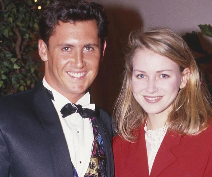 Larry Emdur and Naomi Watts at the 1992 TV WEEK Logie Awards is the power duo we didn't know we needed in our life!