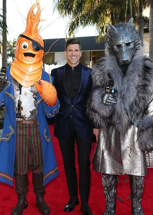 "Osher Günsberg knows how to make an entrance! ""A throwback to last year's TV Week Logies when I arrived on the red carpet with a giant Pirate Prawn and leather-clad Wolf."""