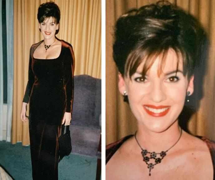 "90s dreams are made of this! ""Elvira does the Logies -1998 😂The velvet was crushed. And, in hindsight, so were my fashion dreams. Tonight is the night the Logies were scheduled...but..2020. @tvweekmag #putyourlogiesfrocksout #tvweeklogies This was waaay before @morningshowon7 I was working in @channel7 Sport & News,"" *The Morning Show* star penned alongside this hilarious retro series."