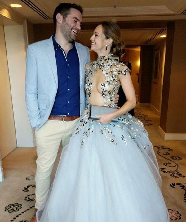 Love is in the air! The actress also posted this adorable throwback from the 2017 TV WEEK Logies with her husband Matt Tooka.