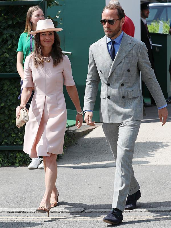 "It's not just Kate and Meghan who make a fashion statement at Wimbledon these days - [Catherine's younger sister Pippa](https://www.nowtolove.com.au/celebrity/celeb-news/pippa-middleton-wimbledon-2019-56922|target=""_blank"") is also a regular fixture in the tournament's stylish lot. Her 2019 Stella McCartney ensemble was the perfect example."