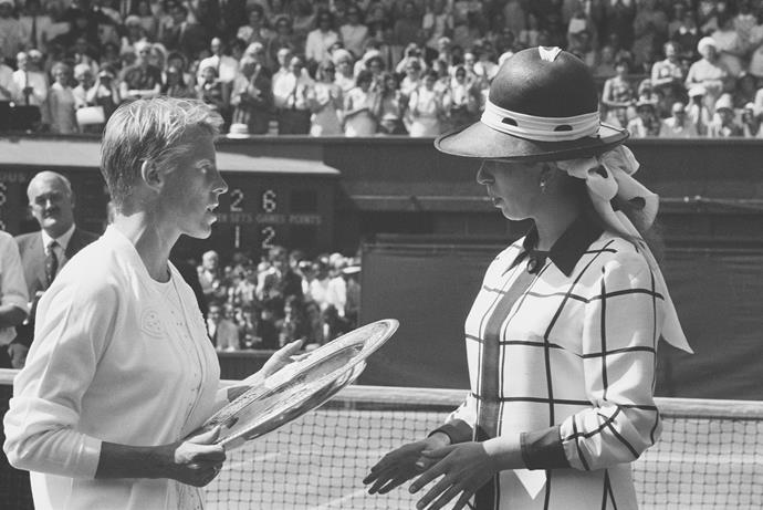 Back in 1969, OG royal fashion icon Princess Anne went all out in a hat and collared jacket combo that was oh-so-sixties.