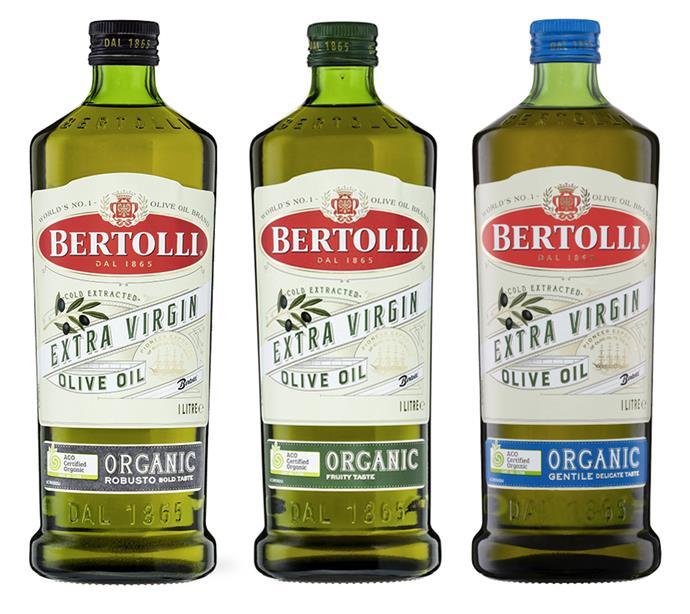 "[Bertolli Organic Extra Virgin Olive Oil Fruity 1L](https://www.woolworths.com.au/shop/productdetails/744989/bertolli-organic-extra-virgin-olive-oil-fruity-taste|target=""_blank""|rel=""nofollow""), [Bertolli Organic Extra Virgin Olive Oil Robusto 1L](https://www.woolworths.com.au/shop/productdetails/744987/bertolli-organic-extra-virgin-olive-oil-robusto-bold-taste|target=""_blank""|rel=""nofollow""), [Bertolli Organic Extra Virgin Olive Oil Gentile 1L](https://www.woolworths.com.au/shop/productdetails/71794/bertolli-organic-extra-virgin-olive-oil|target=""_blank""|rel=""nofollow""), $18 each at Woolworths"
