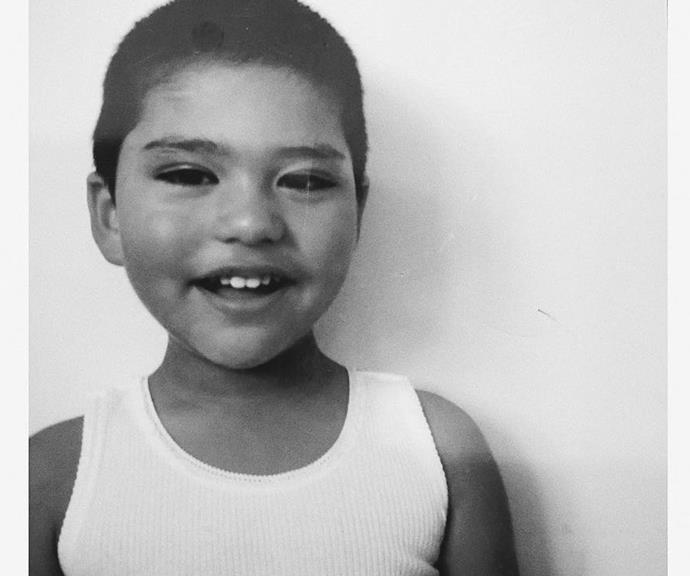 We can't get over how adorable Isaiah was as a toddler.