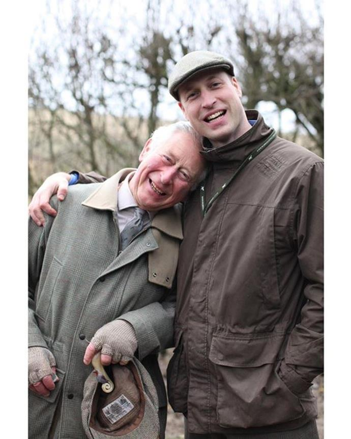 Kensington Royal shared this special new image of Prince Charles and Prince William on Father's Day 2020.