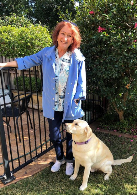 """Lynne McGranger is our unsung style hero. She whacked together some [easy breezy at-home looks](https://www.nowtolove.com.au/fashion/fashion-trends/home-and-away-cast-style-63479