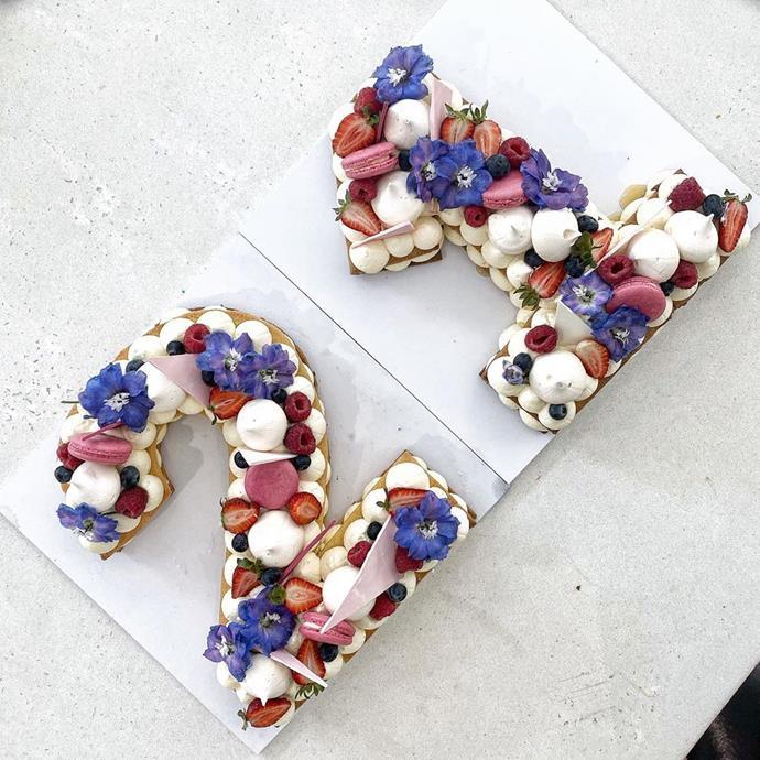 One of Emelia's custom cake creations.