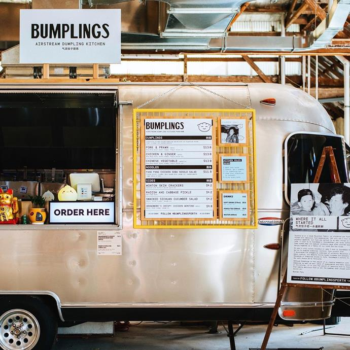 The Bumplings food truck.