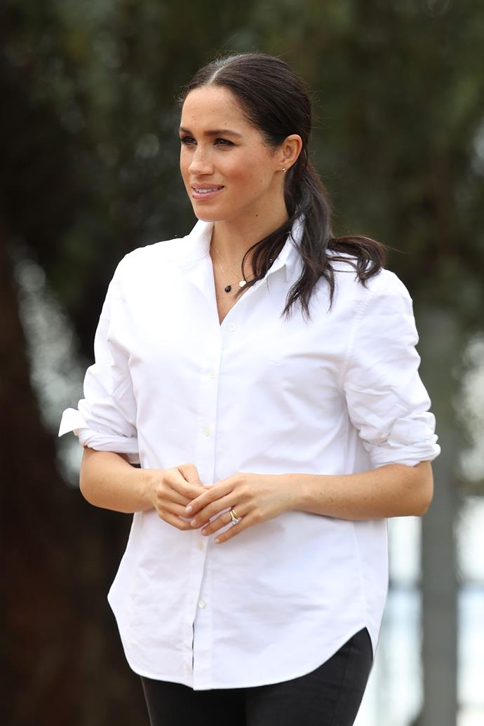 Five friends came to Duchess Meghan's defence as she endured media scrutiny.