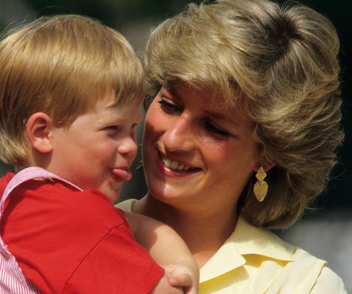 Prince Harry's outgoing personality has been evident since his childhood.