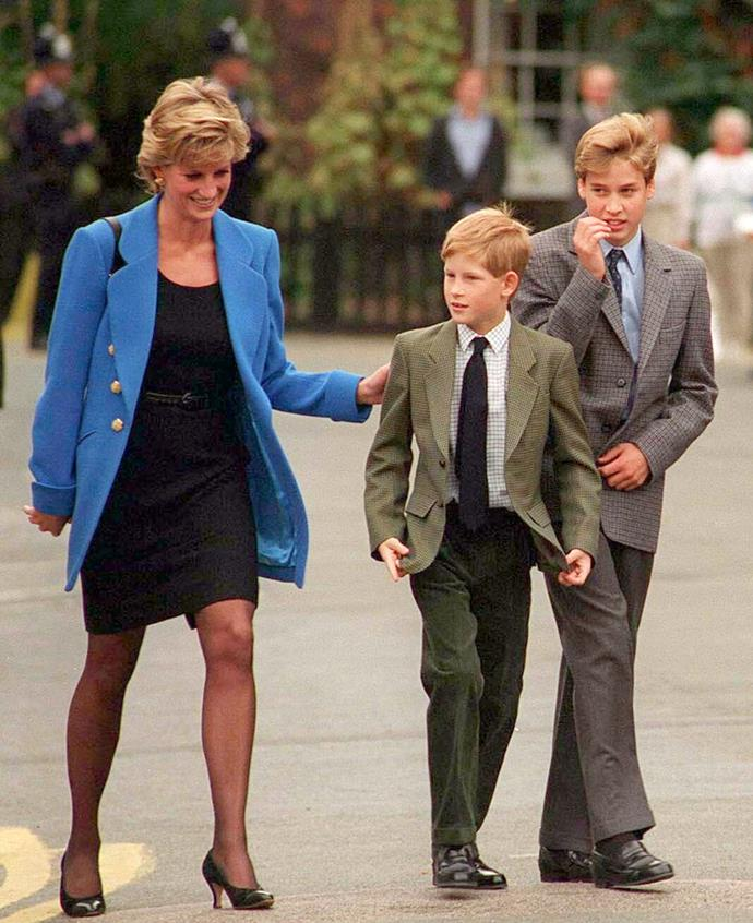 Prince Harry spoke of his mother, Princess Diana, in the moving new clip.