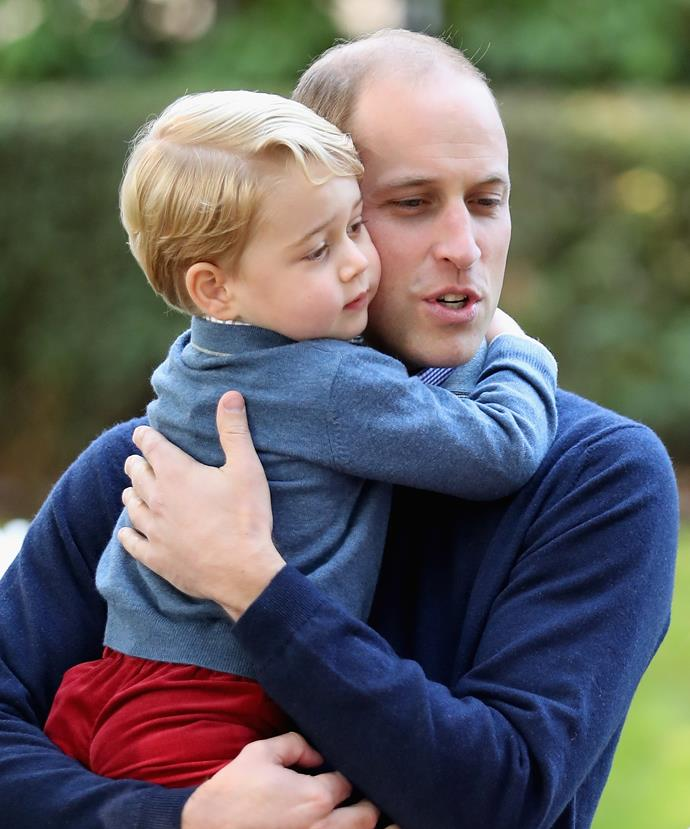 """Prince George is """"amazing, funny and feisty"""" according to his godmother."""