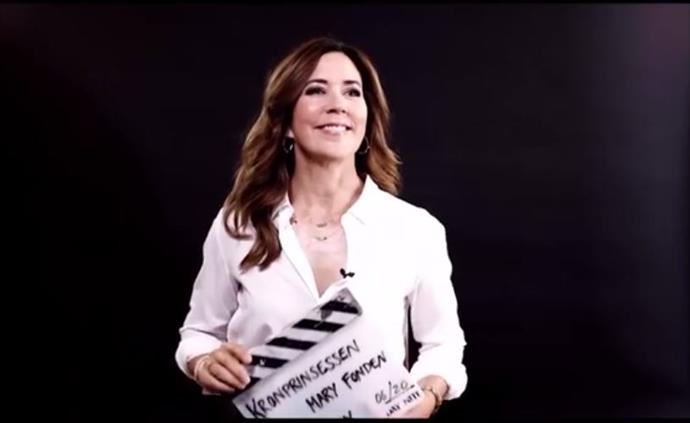 Crown Princess Mary has made an incredible new movie sequence in an effort to help combat loneliness in young people.