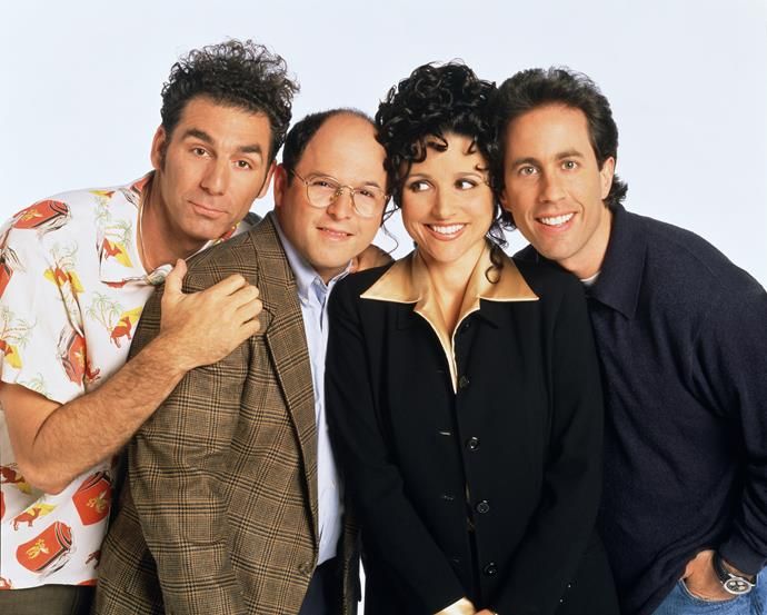Danielle is a big fan of iconic show *Seinfeld* - as is her young son!