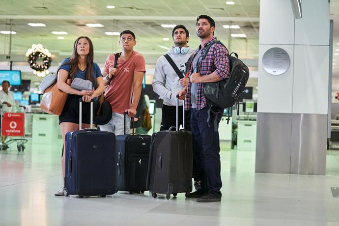 The Parata's set off for New Zealand... but will they make it there?