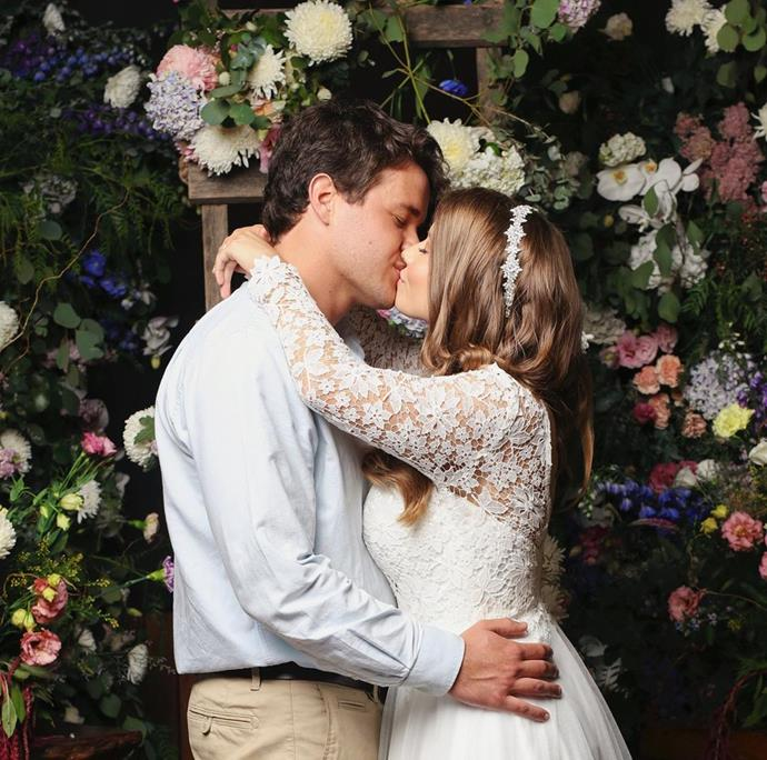 Bindi and Chandler tied the knot just hours before strict social distancing rules were put in place.