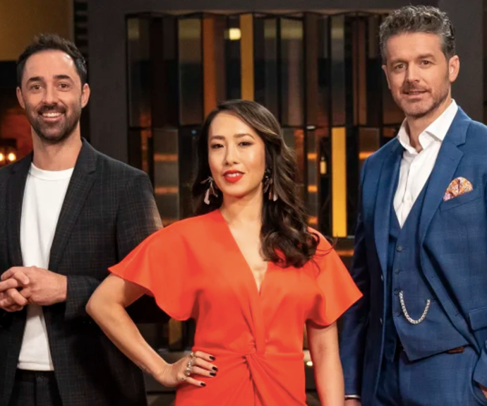 """""""We have each other's backs,"""" Melissa says of her fellow judges Andy Allen and Jock Zonfrillo."""