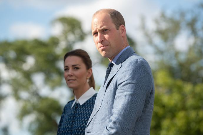 Listening to their stories, Kate and Wills reflected the sentiment felt by all towards the NHS - admiration and gratefulness.