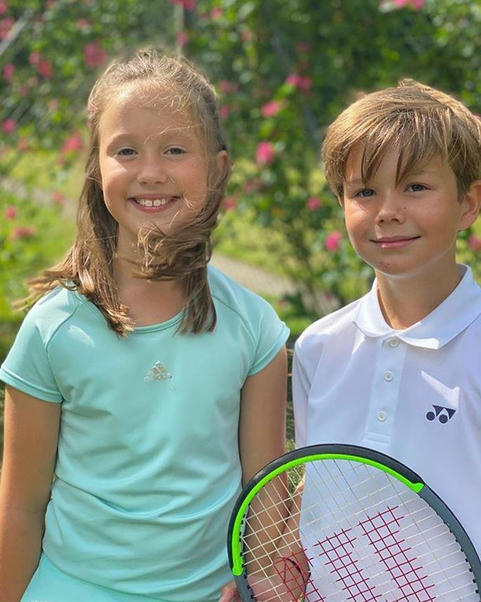 Princess Mary's twins have a love for tennis - not unlike another royal family...