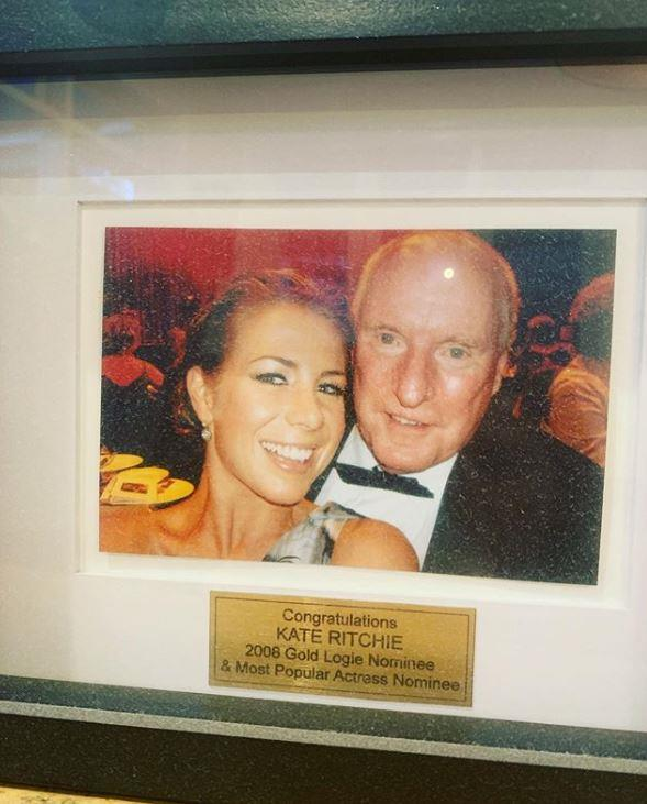 Kate shared this sweet snap which clearly sits pride of place for her.
