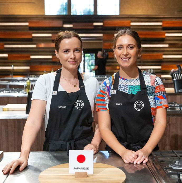 *MasterChef* stars Emelia Jackson and Laura Sharrad are tipped to win the competition this season.