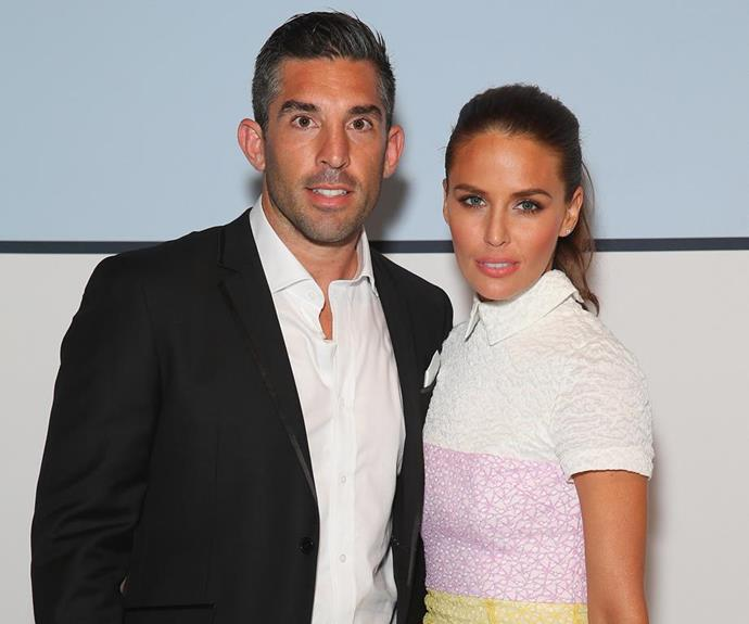 Jodi with her ex-husband Braith Anasta. The couple announced their divorce in 2015.