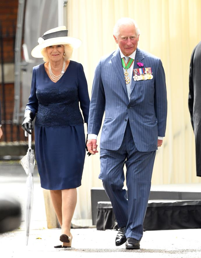 Camilla also spoke candidly of her husbands vibrant spirit in the interview.