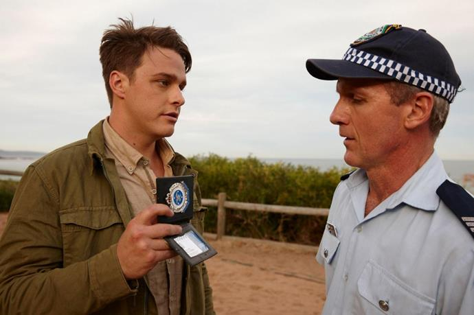 What's better than an undercover policeman fighting the good fight? Only when the undercover policeman reveals himself as an *actual* policeman and becomes a Summer Bay regular. Colby did exactly that when he exploded onto screens in 2018, after helping fellow local Mason fight off the River Boys. And thus, it was love at first sight.