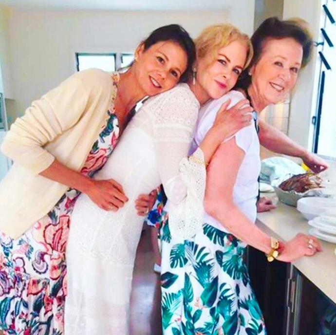 Nicole, Antonia and mum Janelle are the ultimate three peas in a pod.