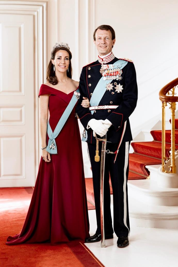 Prince Joachim with his second wife, Princess Marie.