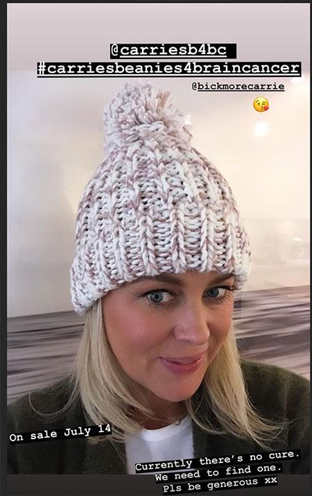 No network rivalry here! Channel Seven star Samantha Armytage was more than happy to get behind her Channel Ten pal's cause.