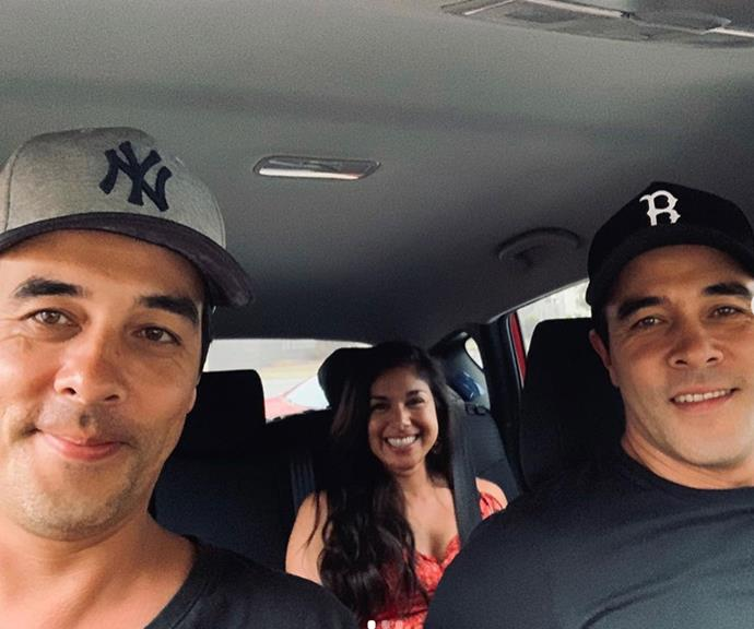 Gang's all here! James' wife Sarah heads on a road trip with the brothers.