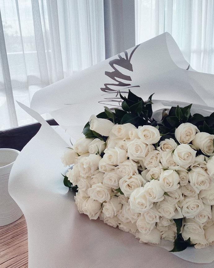Pia uploaded this photo of the gorgeous bunch of flowers.