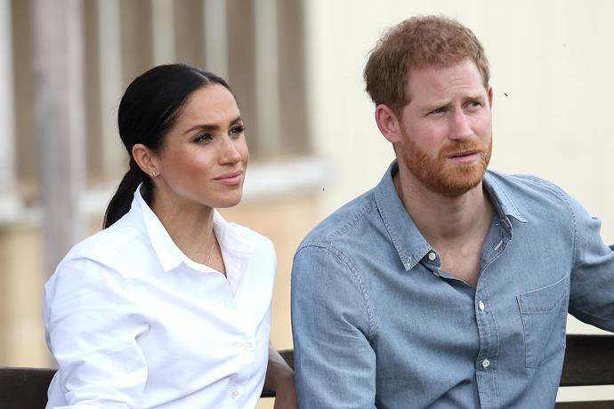 Meghan shared an incredibly rare statement in defence of her friends.