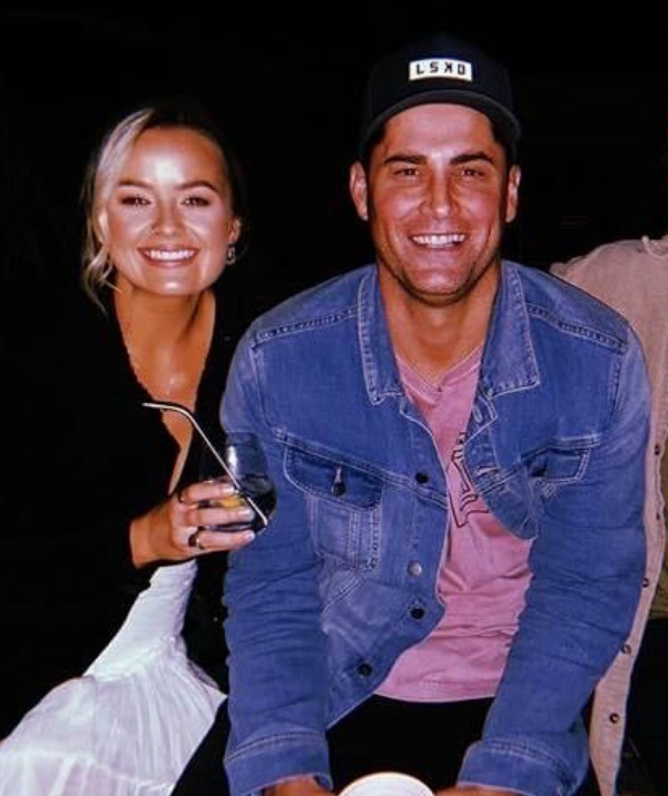 *The Bachelor* star Elly Miles was spotted snuggling up to *BIP* contestant Jamie Doran at a party recently.