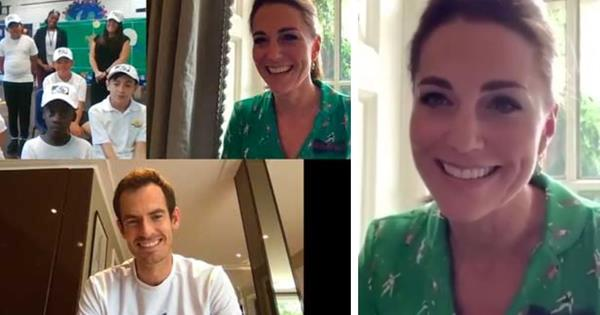 Duchess Catherine wore one of her quirkiest outfits to date in new video with Andy Murray - but you have to look closely to appreciate it