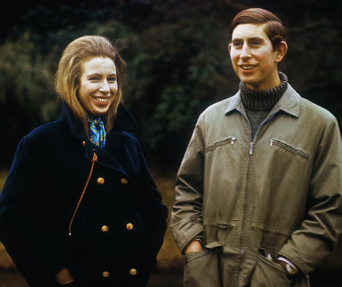 Princess Anne's farm is not far from Prince Charles' organic Highgrove farm. (Pictured in 1980).