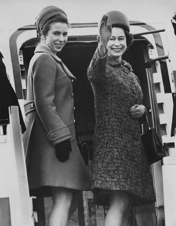 Princess Anne visited Australia in 1970 alongside Queen Elizabeth II, the Duke of Edinburgh and her brother, Prince Charles.