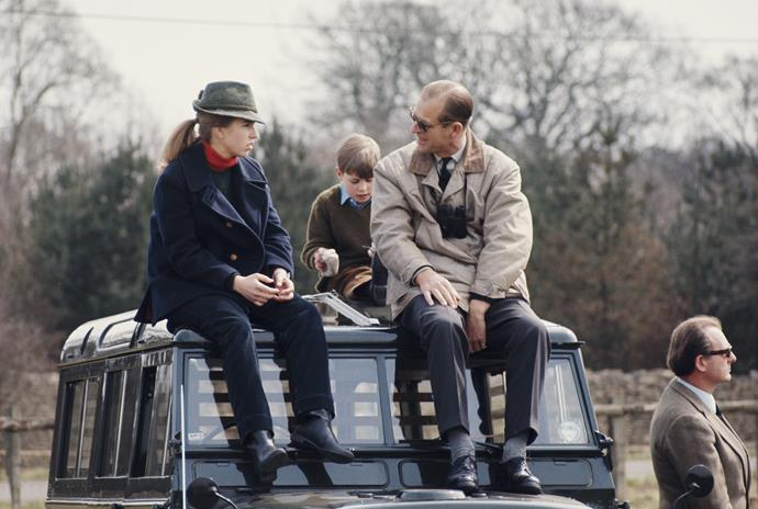 """She's her father's daughter. There's a palpable fondness between them that you'll see"" - Prince Philip's legacy lives on through Princess Anne (pictured in 1980)."