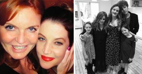 Sarah Ferguson pays tribute to Lisa Marie Presley following the tragic death of her son