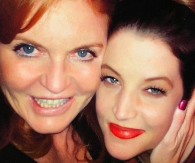 Sarah shared a photo with Lisa before penning her touching tribute.