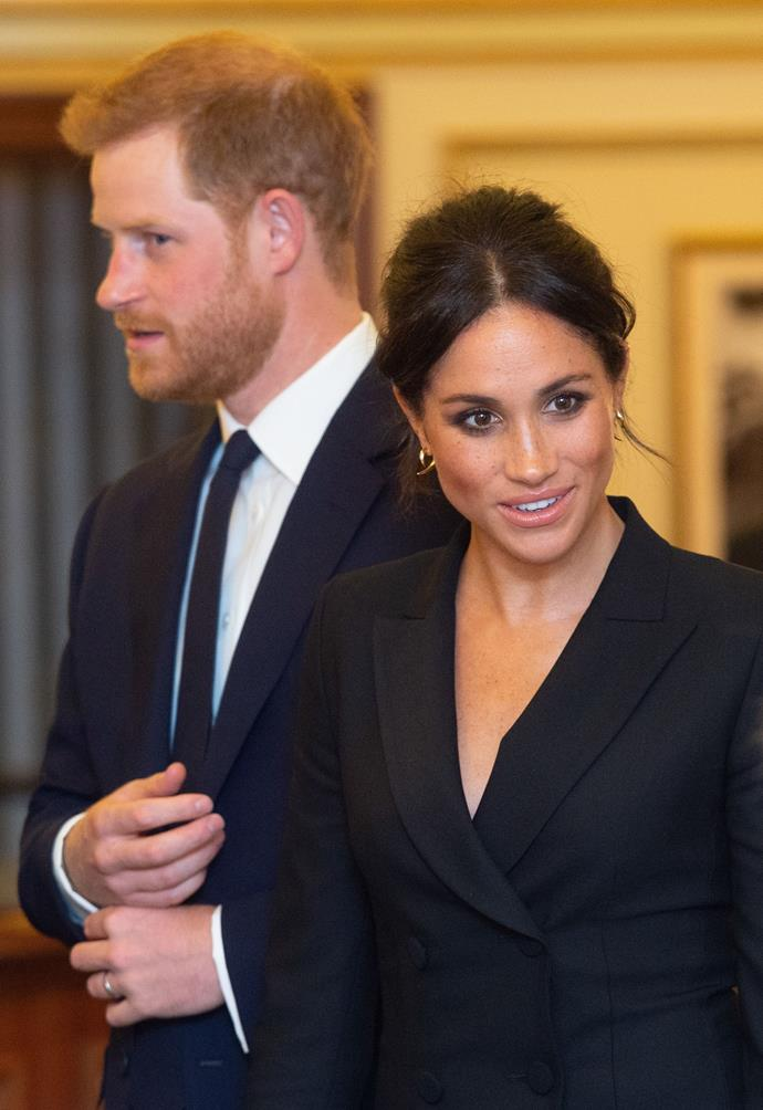 Meghan's words were met with praise from fans.