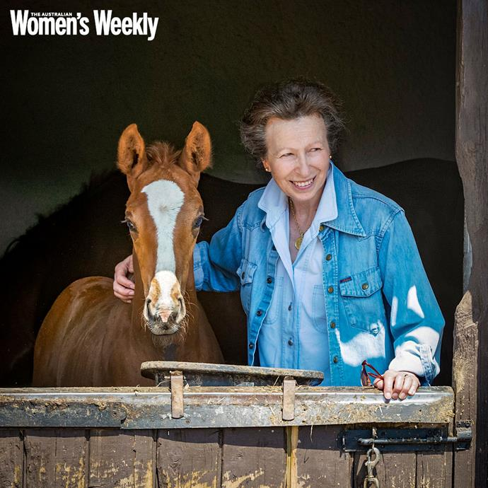 Princess Anne still goes horse-riding every day.