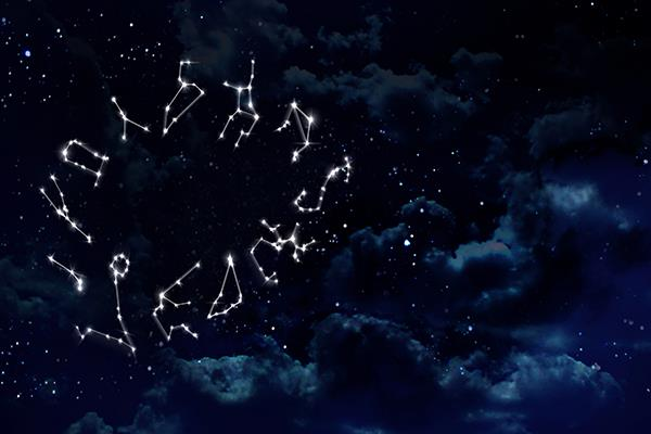 Star signs are determined based on the sun and constellations