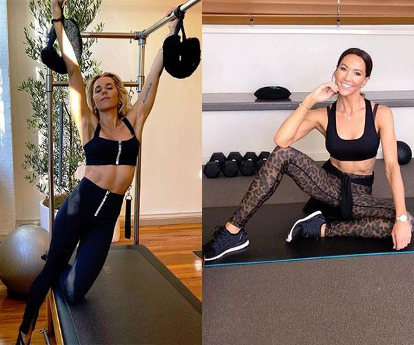 They share their fitness routines on social media.