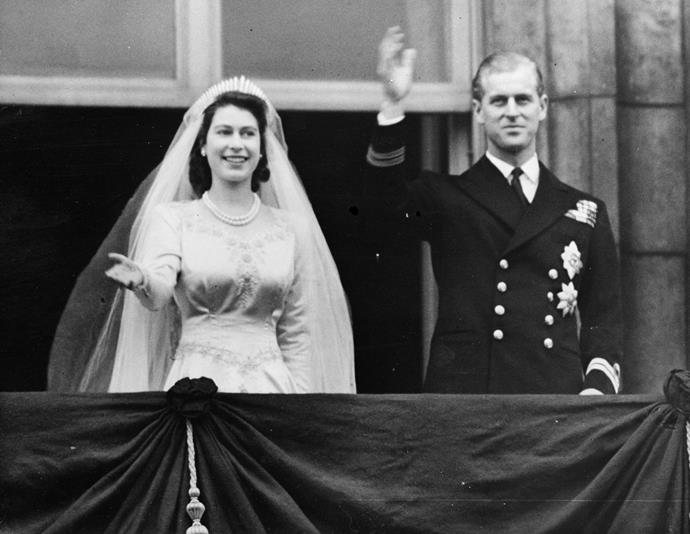 If you thought you recognised Beatrice's tiara, you'd be right - the Queen wore it on her own wedding day back in 1947.