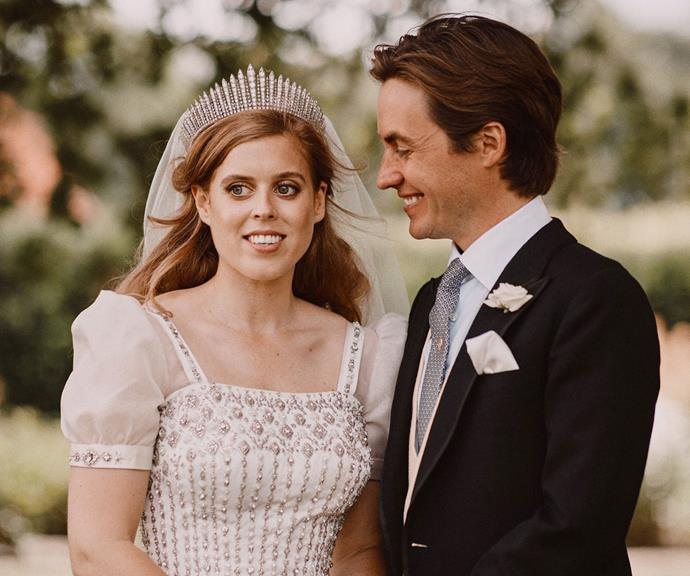 Surprise, they've tied the knot!  <br><br> Princess Beatrice and Edoardo Mapelli Mozzi still managed to enjoy a special, albeit much smaller, celebration on Friday July 17, tying the knot in secret at the All Saints Chapel in Windsor with just 20 friends and family present.